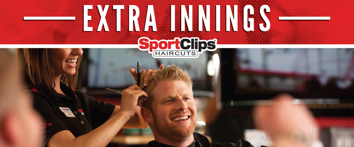 The Sport Clips Haircuts of Richmond Ranch Extra Innings Offerings